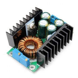 DC CC CV 8A 280W step down buck converter 7-40V to 1.2-35v power adjustable