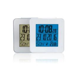 LCD часовник с аларма и термометър RS3028C5-WH