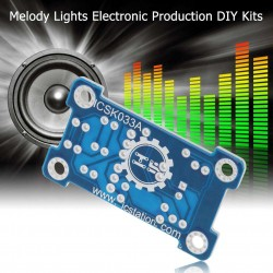 Модул - гласово контролиран с зелени LED диоди музикален комплект