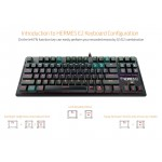 Gamdias Gaming Keyboard Mechanical 87 keys - HERMES E2 7 COLOR