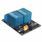 2 канален релеен модул на 5V With Optocoupler Protection
