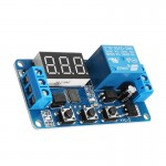 12V Relay Module External Trigger Delay Switch Time Adjustable