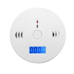 Комбиниран детектор за дим, въглероден монооксид, газ, пожар, СО с аларма и дисплей