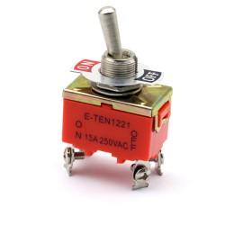Rocker switch e-ten 1221 15a 250v