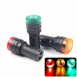 LED мигащ зумер AD16-22SM 12V 22mm