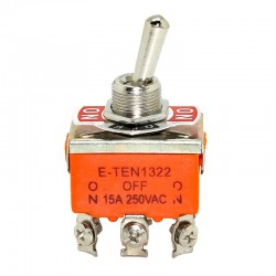 Orange SPDT 3 Terminal ON/OFF/ON Toggle Switch Waterproof Switch Hats OT8G P0.05