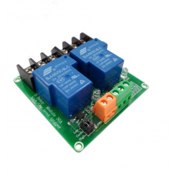 Дву канално реле 12V 30A / high and low level trigger relay module Smart home PLC automatic control