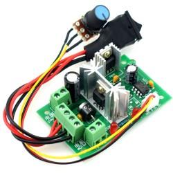DC 6-30V 200W PWM Motor Speed Controller Regulator Reversible Control