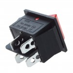 KCD4 DPST ON-Off 4 Pin Rocker Boat Switch 15A AC 250V