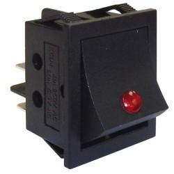 Rocker switch KCD4 16A/250VAC Black