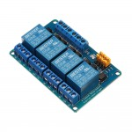 Реле 4 канално 12V / with optocoupler isolation support high and low level trigger relay